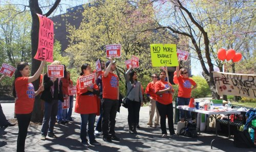 "CWA 1104 GSEU to join the huge ""One Voice United"" Rally for Public Education"